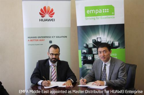 EMPA Middle East appointed as Enterprise Distributor for HUAWEI